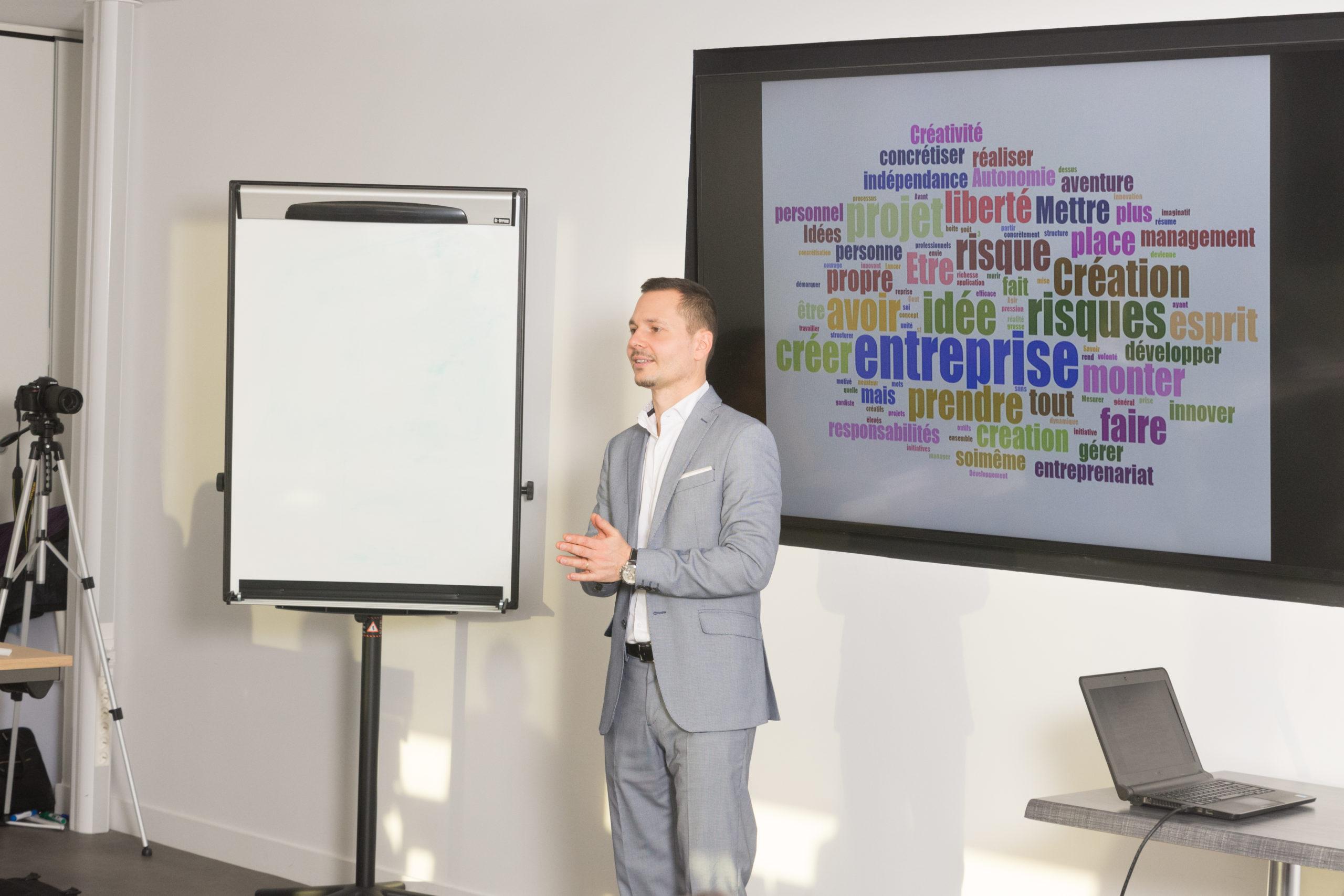 Coaching prise de parole pour cadre d'entreprise